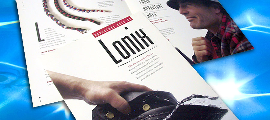 Lonix Hats Catalogue