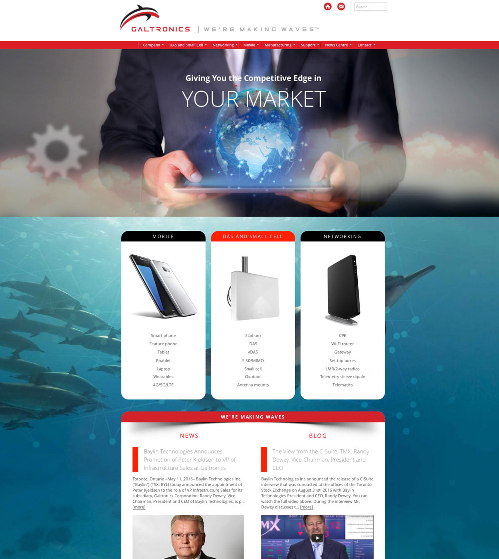 Click here to go to the company website -  Galtronics Is A Global Company Providing Affordable Antenna And Communications Solutions Of The Highest Quality Design Click Here To Go To The Website