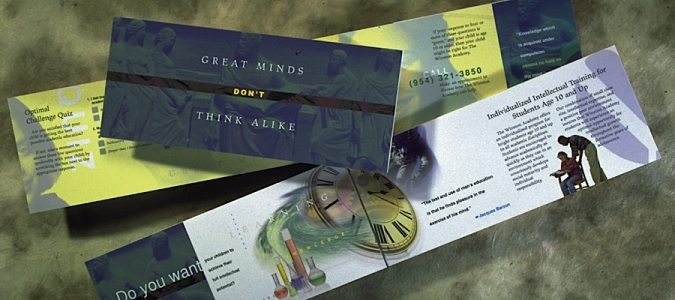 Winston Academy direct mail
