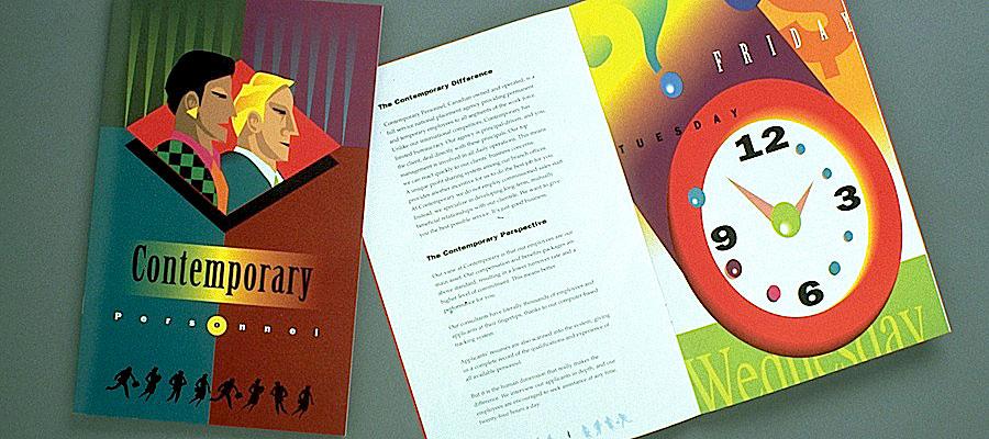 Contemporary Personnel brochure