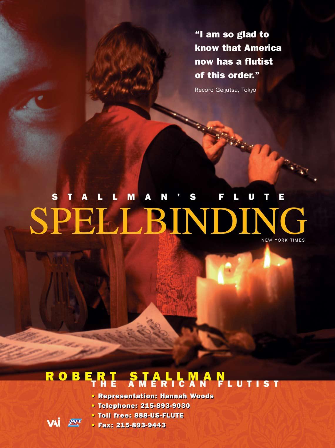 Stallman's Flute: Spellbinding
