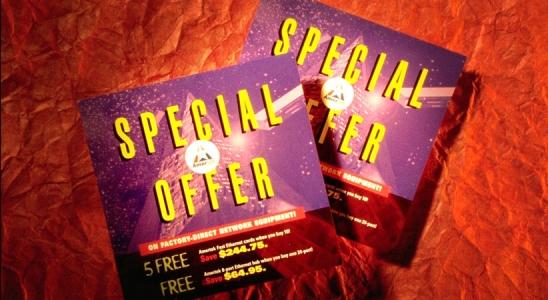 Amer.com direct marketing brochure