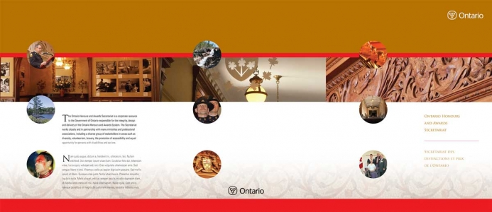 Ontario Honours and Awards Secretariat: Kit folder