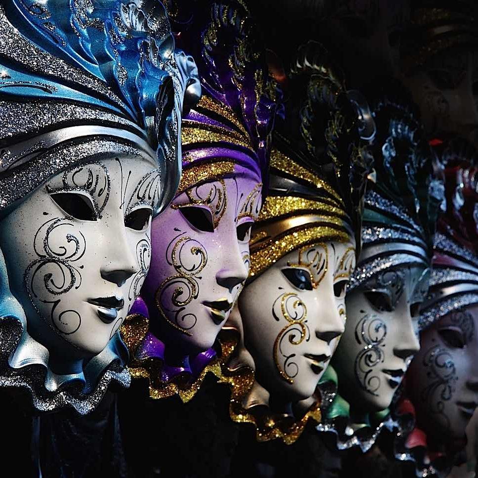 Five Power Persona Masks Slider-Persona-Corp